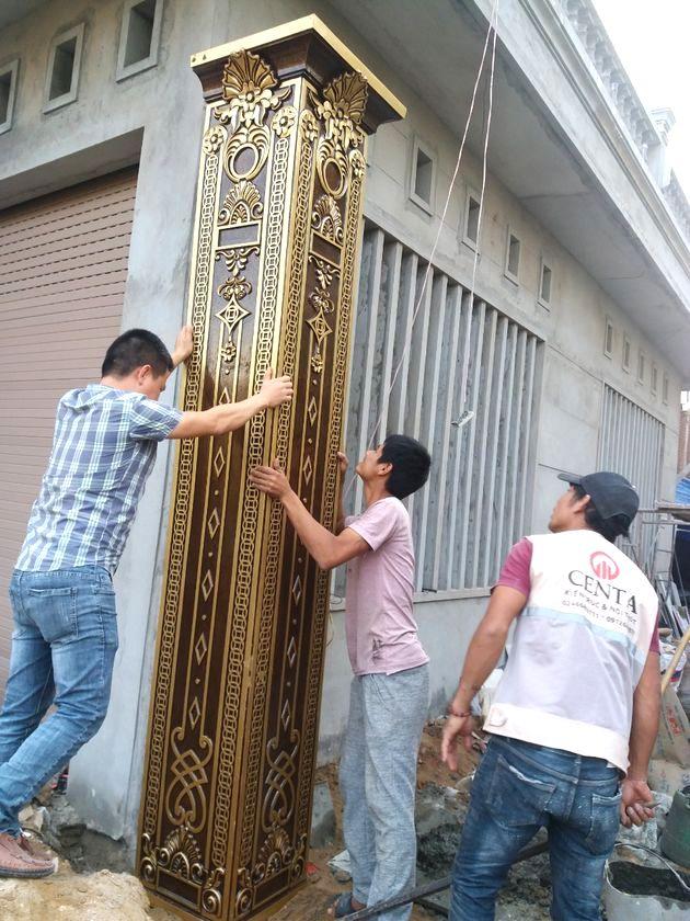 cong nhom duc, Cổng nhôm đúc, cửa nhôm đúc, lan can nhôm đúc, hoa nhôm đúc, cầu thang nhôm đúc,