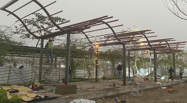 Thi công xây dựng nhà đẹp, thi công kết cấu thép