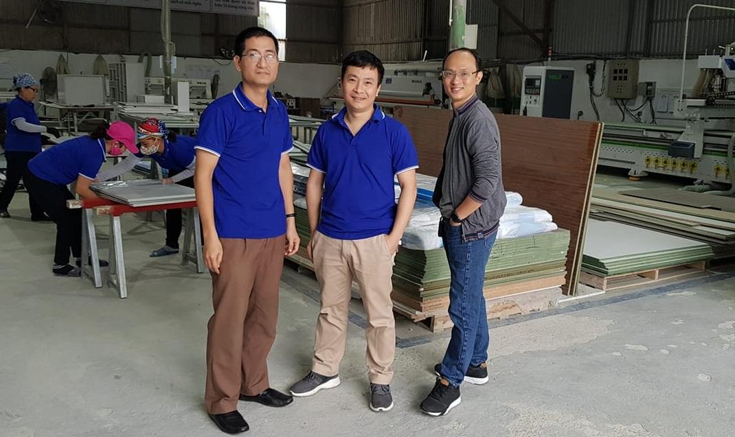 Thanh Centa san xuat noi that Ban giám đốc điều hành xưởng sản xuất nội thất
