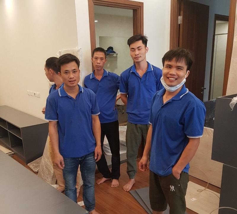Nhà thầu nội thất lắp đặt, thợ thi công tại công trường