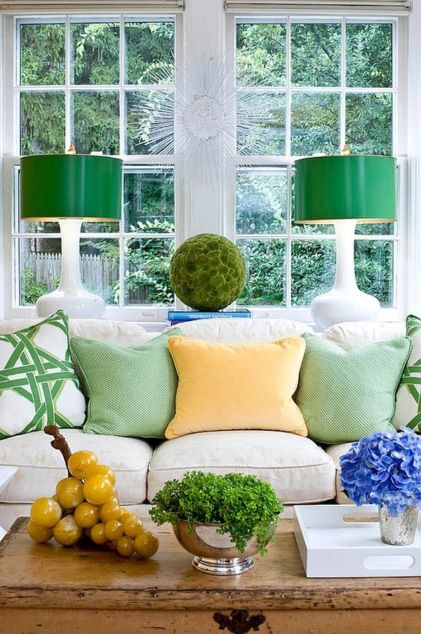 Ý nghĩa màu sắc xanh lá trong xu hướng trang trí nội thất 2020
