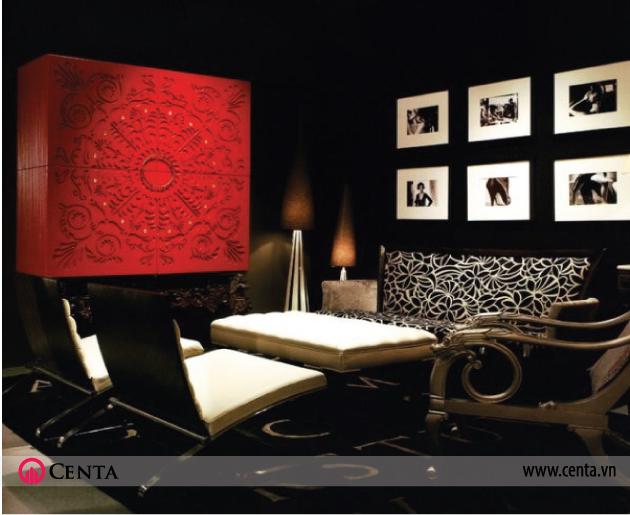 Màu đen đỏ và ý nghĩa của màu sắc trong thiết kế nội thất