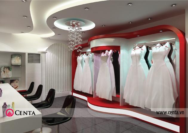 thiet-ke-noi-that-showroom-ao-cuoi www.centa.vn.