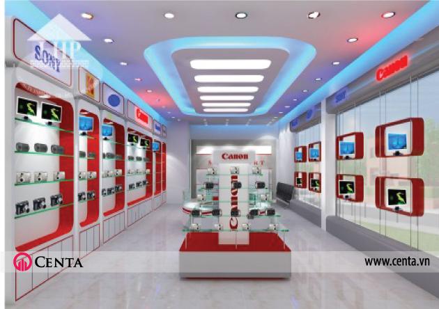 thiet-ke-noi-that-showroom-dien-tu www.centa.vn.