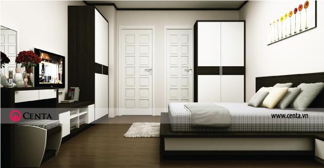 Không gian nội thất Phòng ngủ con trai