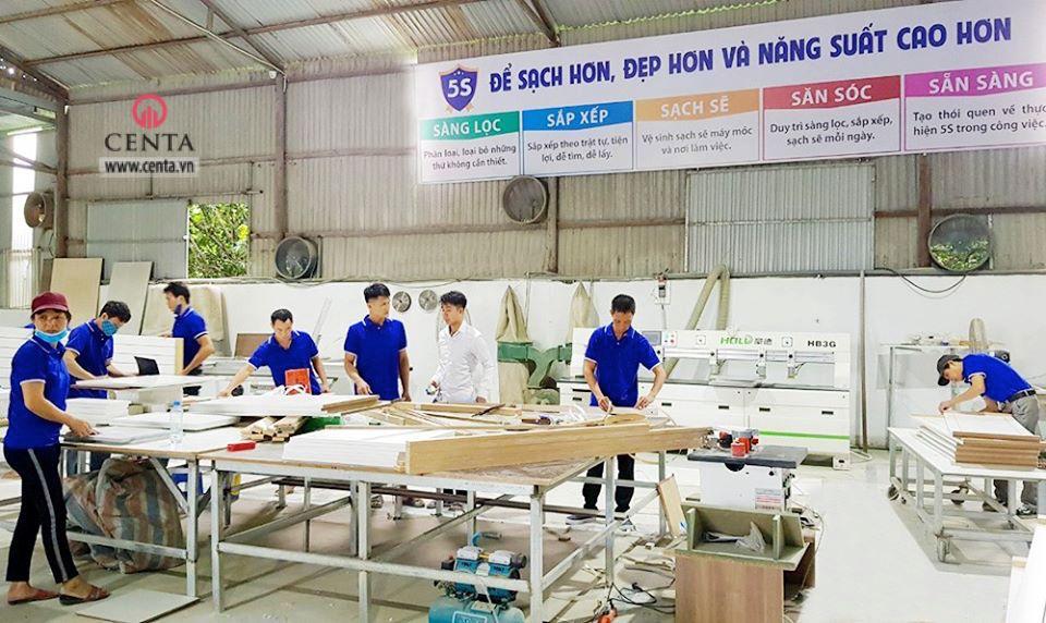 Xưởng gỗ sản xuất Nội thất CAO CẤP