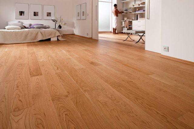 Mẫu sàn gỗ công nghiệp hiện đại cho căn hộ chung cư