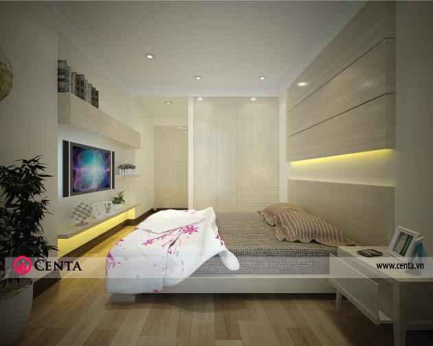 Không gian nội thất phòng ngủ con trai 2 - View 02