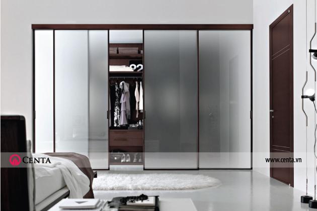 Mẫu tủ áo phòng ngủ đơn giản hiện đại