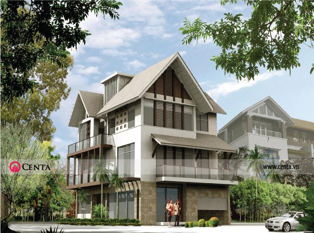 Thiết kế biệt thự Ecopark phong cách hiện đại