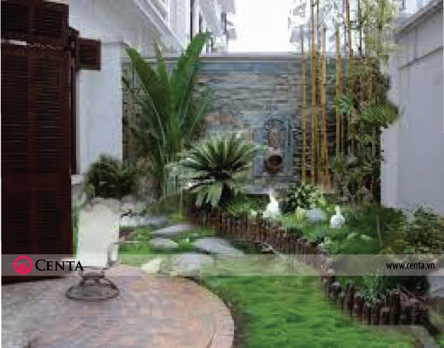 Mẫu thiết kế sân vườn đẹp cho nhà 2020