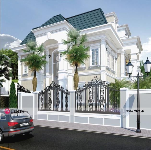 Mẫu thiết kế biệt thự đẹp Vinhomes