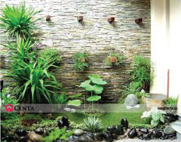 Mẫu thiết kế tiểu cảnh sân vườn trong nhà đẹp 2020