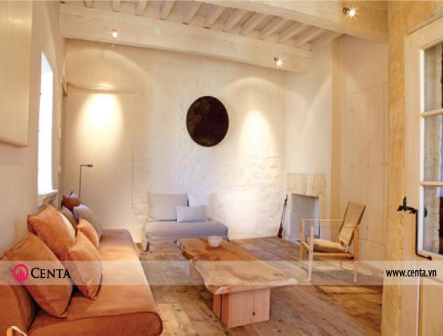Phong cách nội thất mới phong cách gỗ tự nhiên trang trí