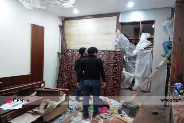 Thi công cải tạo Nội thất Biệt thự - www.centa.vn