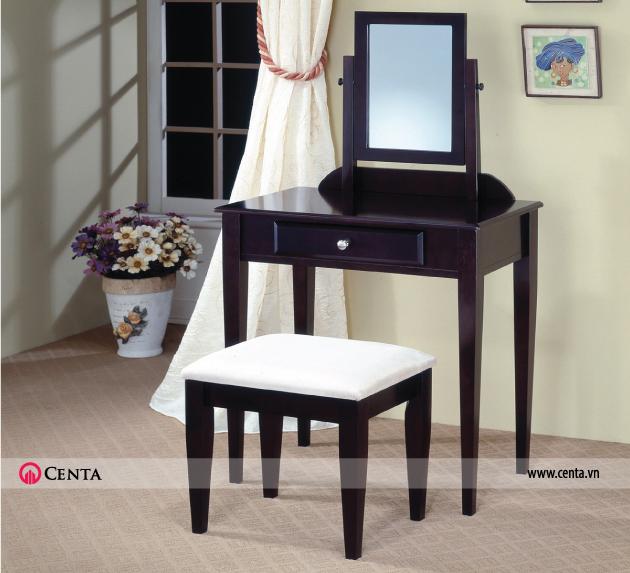 Bộ bàn ghế đơn giản nhất có thể nhưng khá đẹp để lựa chọn cho căn hộ diện tích nhỏ