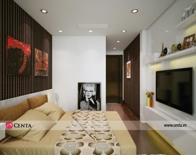 Thiết kế Nội thất phòng ngủ căn hộ Vinhomes Ocean Park