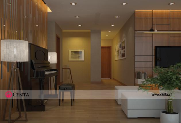 Không gian nội thất Phòng sinh hoạt chung