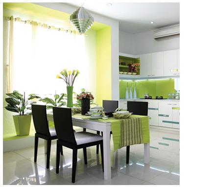 Màu sắc trong thiết kế - sử dụng màu xanh lá cây