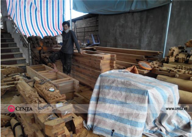 Thi công nhà gỗ, sản xuất gỗ tự nhiên nhà truyền thống
