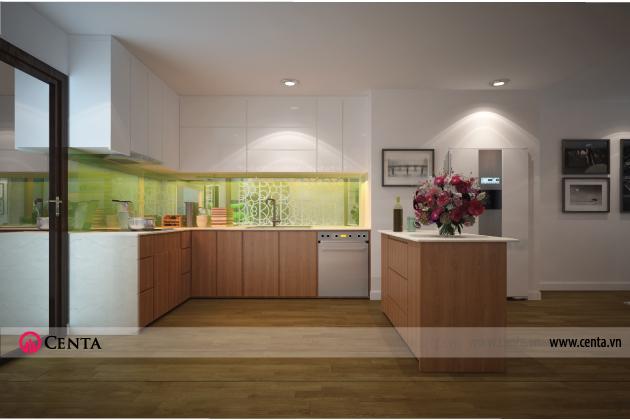 Không gian Nội thất phòng ăn và phòng Bếp