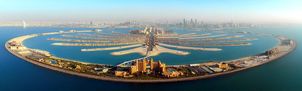10.The Palm Islands