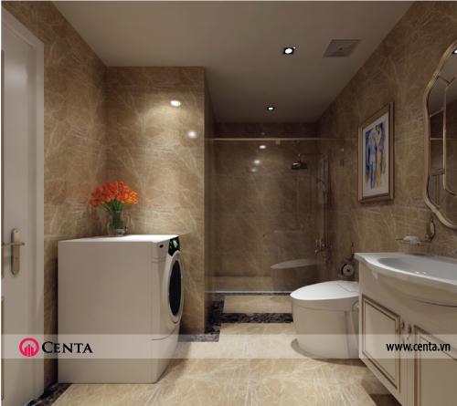 Nội thất phòng tắm tân cổ điển
