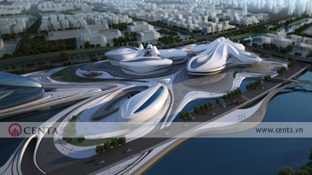 01. Changsha Meixihu International Culture Arts Center