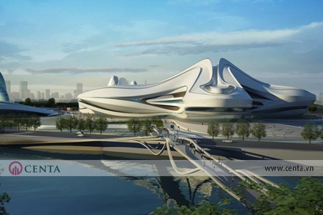 03. Changsha Meixihu International Culture Arts Center