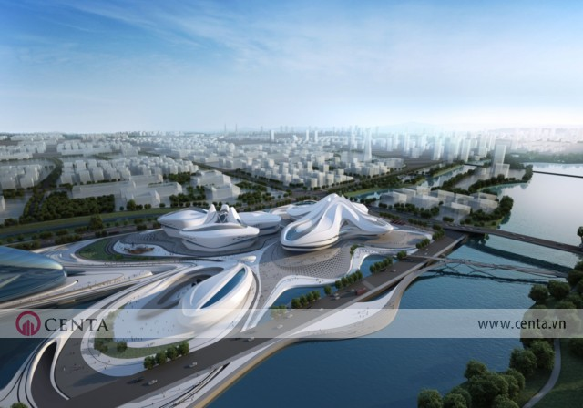 06. Changsha Meixihu International Culture Arts Center