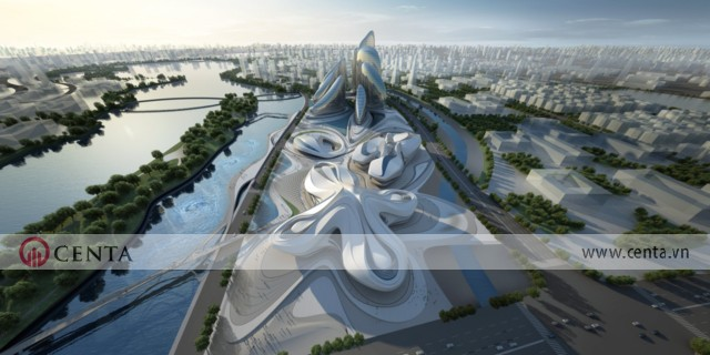 07. Changsha Meixihu International Culture Arts Center