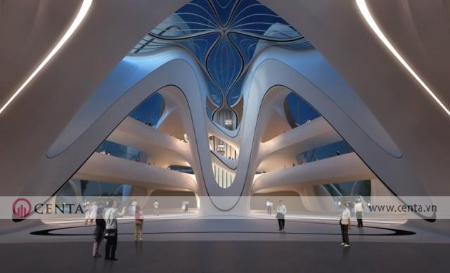 10. Changsha Meixihu International Culture Arts Center