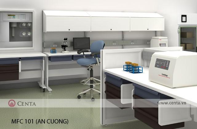 Thiết kế phòng khám và nơi trực của bác sỹ, y tá