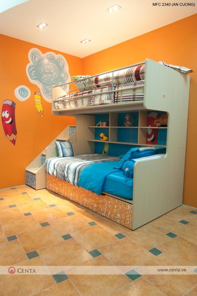 Phòng ngủ cho các bé trai