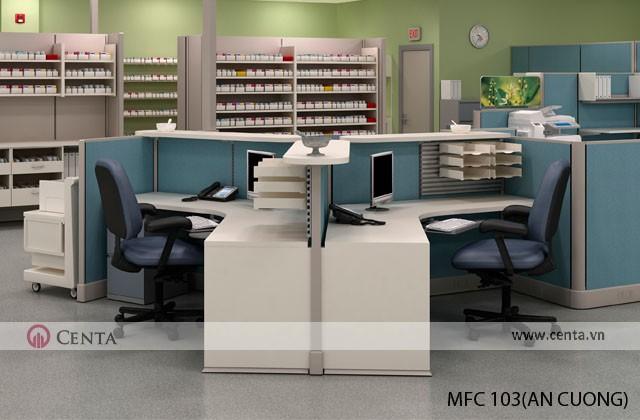Phòng làm việc cho bác sỹ và y tá, điều dưỡng