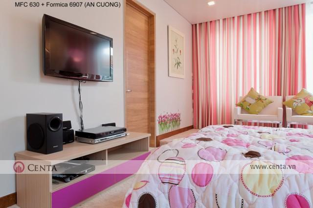 Phòng ngủ cho bé mệnh hỏa