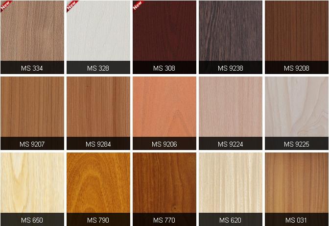MFC An Cường màu sắc vân gỗ đẹp