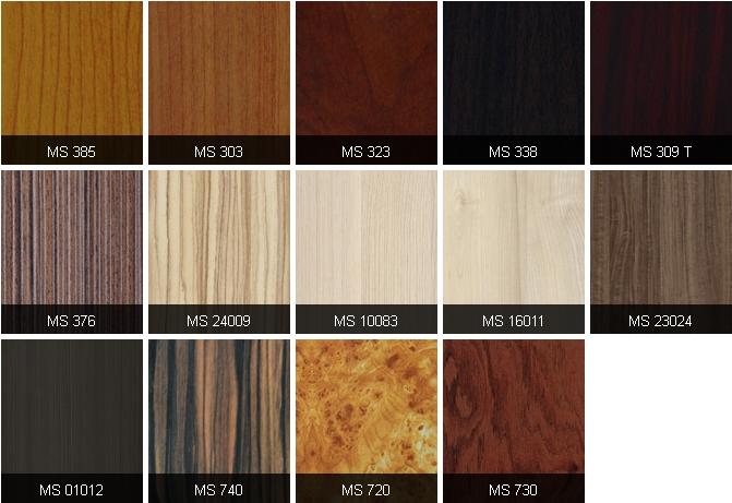 MFC An Cường màu sắc vân gỗ