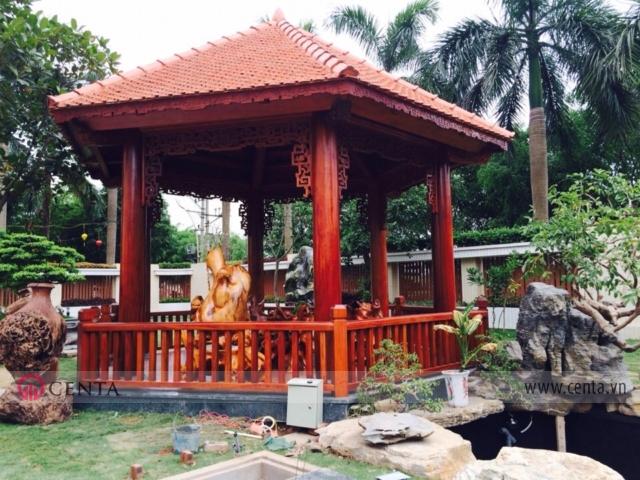 07.Thi-cong-lau-tra-Biet-thu-vuon _www.centa.vn