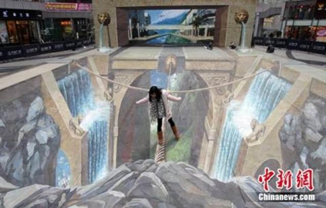 08. Tranh-3D-duong-pho _www.centa.vn