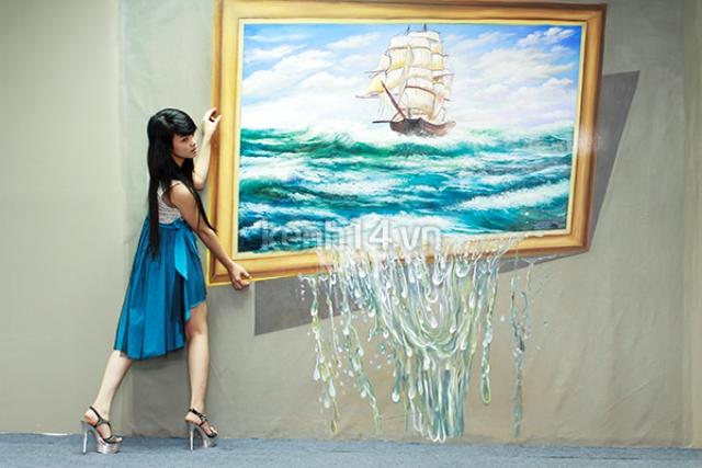 09. Tranh-3D-duong-pho _www.centa.vn