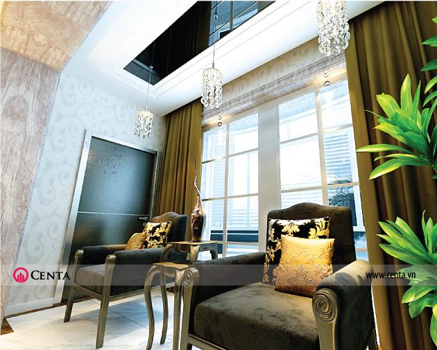 Thiết kế thi công biệt thự nội thất Vinhomes Riverside