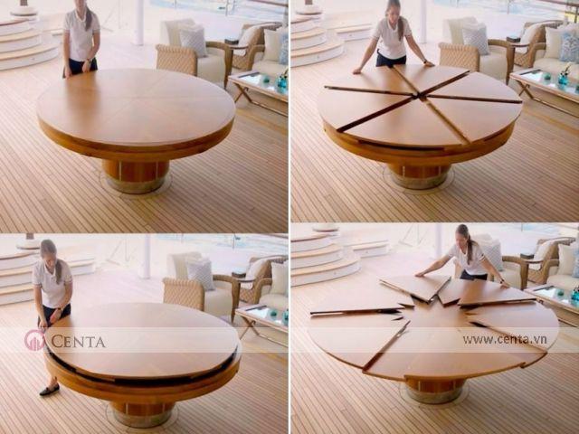 Đây là bàn ăn được thiết kế bởi Duffy London