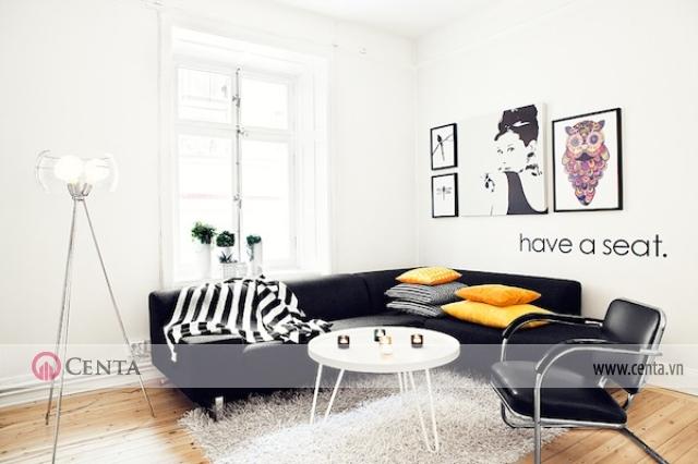 Bàn ghế sofa phong cách Bắc Âu