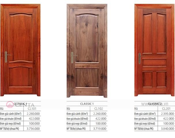 02. Bao-gia-cua-go _www.centa.vn
