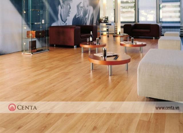Sàn gỗ công nghiệp sử dụng rộng rãi từ phòng khách, phòng ăn, phòng bếp và phòng ngủ
