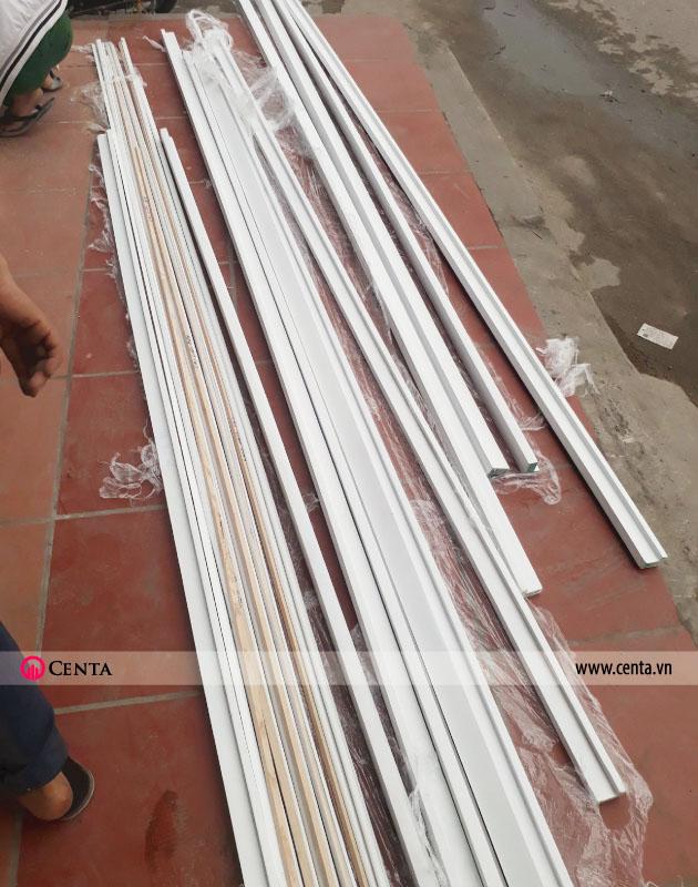 Thi công vách CNC 1