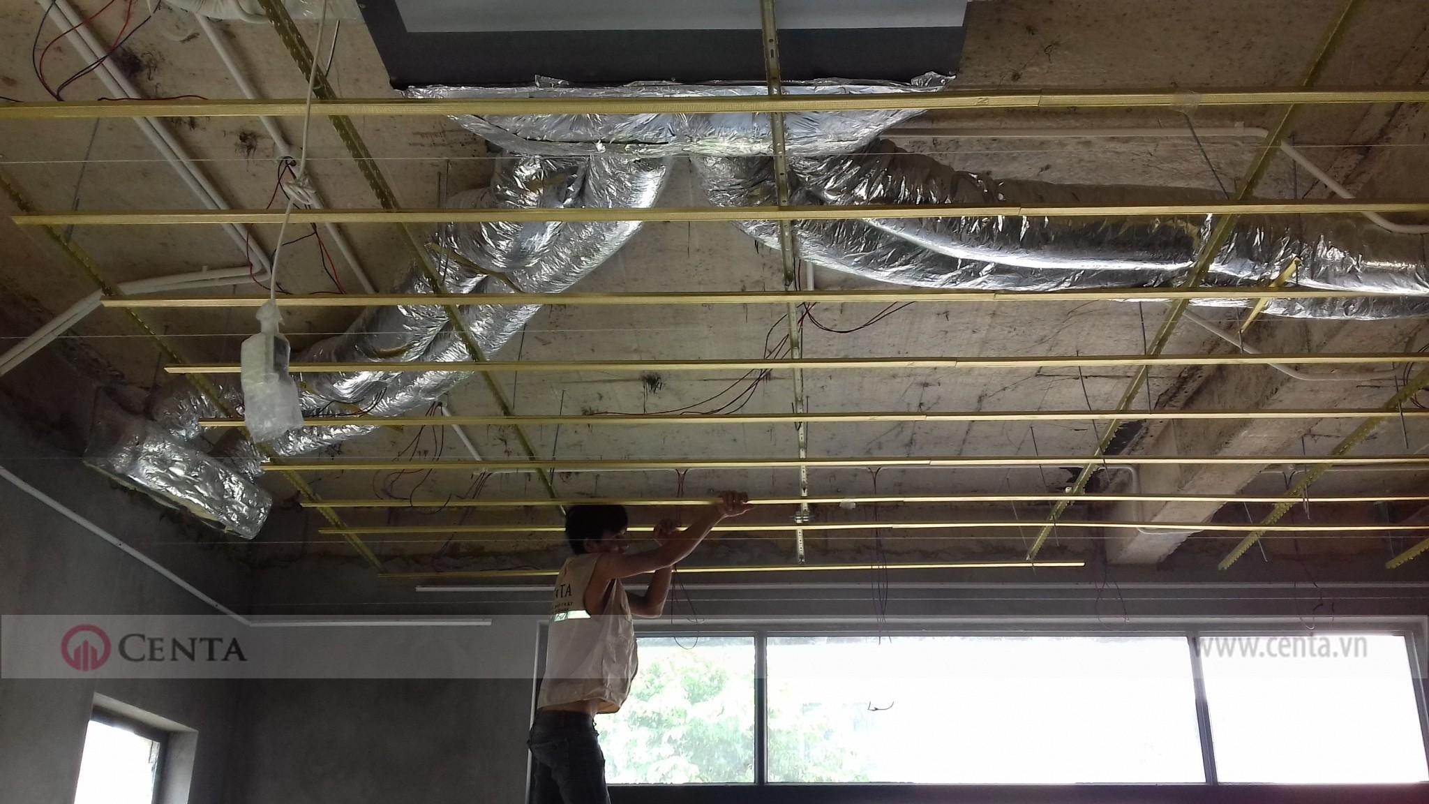 Thi công điều hòa lắp đặt ống gió điều hòa Daikin thi cong dieu hoa