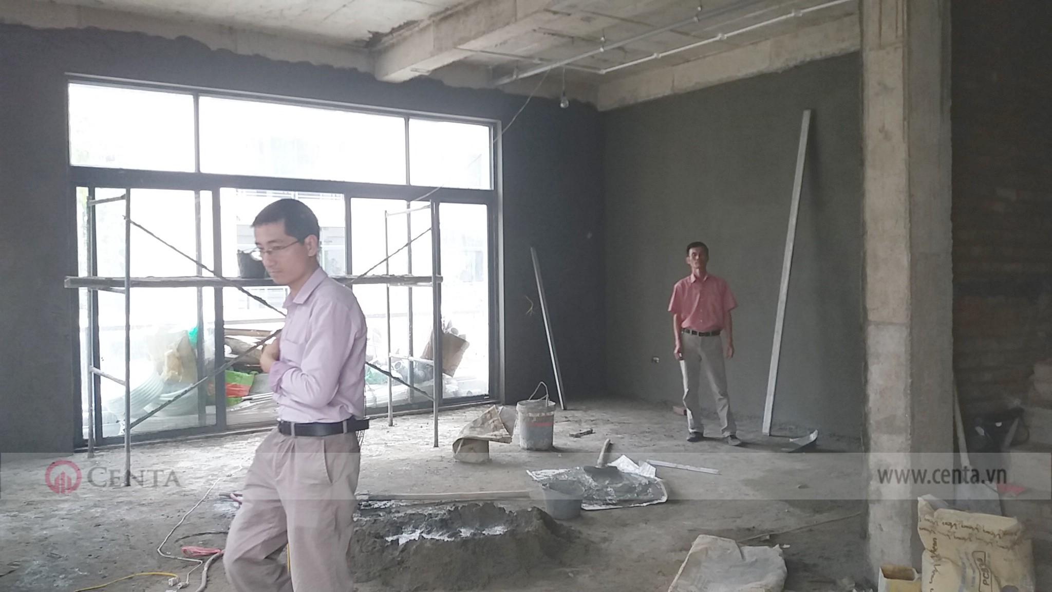 Giám sát thi công xây trát trong nhà biệt thự đẹp