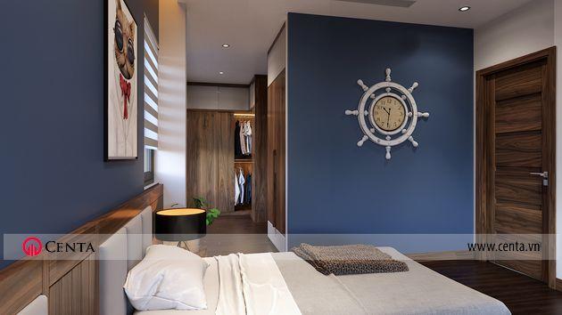Biệt thự Vinhomes Ocean park nội thất phòng ngủ